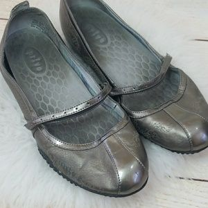 Privo Mary Jane slip on velcro strap flats sz 8.5